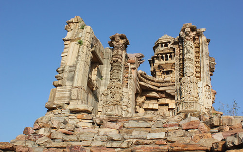 Ruins at Chittorgarh