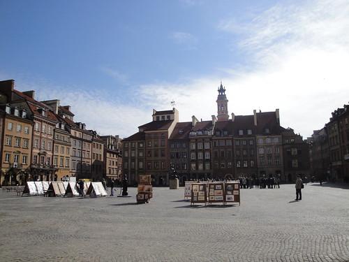 Old Town Rynek, Warsaw