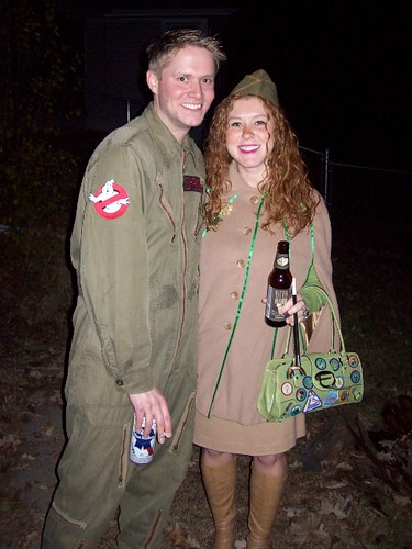 Ghostbuster and Phyllis Nefler