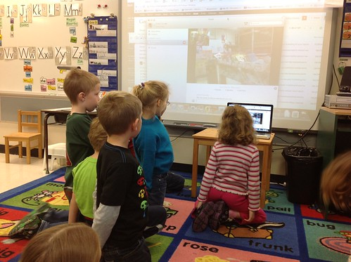 Skype with Ms Lirenman's Class
