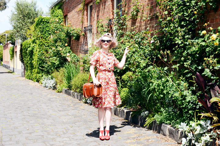 red floral laneway pic b