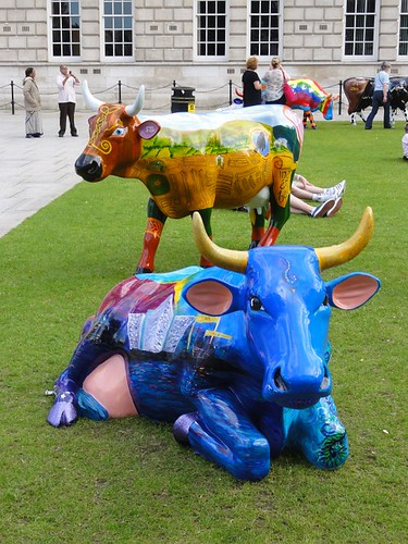 CowParade 2012 Belfast City Hall