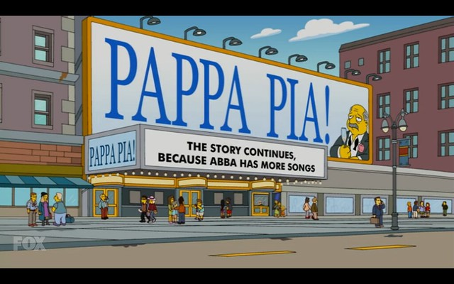Pappa Pia - The Simpsons - Moonshine River