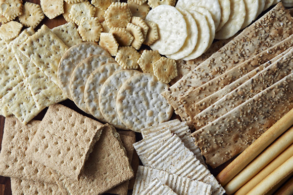 Crackers come in all sorts of shapes and sizes.