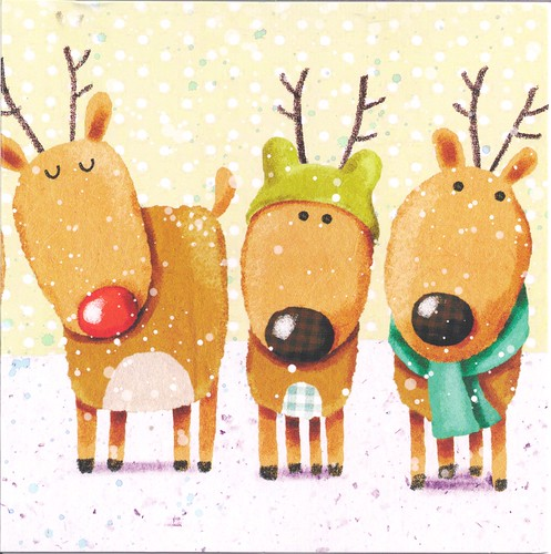 Sweet & Silly Reindeers