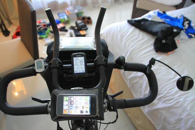 Koga. The dashboard of my new Koga Signature touring bike.