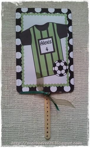 Invitación4Kit cumpleaños futbolero Merbo Events
