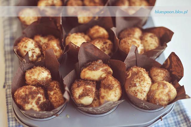 muffiny przed pieczeniem