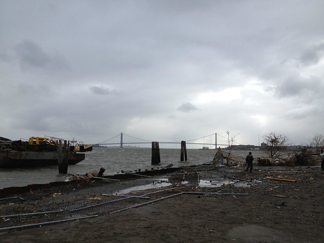 Staten Island after Hurricane Sandy