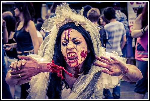 Zombiewalk 2012 - Zombie Hambrienta by diegol72