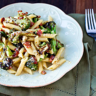 Roasted Broccoli Carbonara
