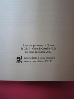 Lucinda Hawksley, Lizzie Siddal. Odoya 2012. [responsabilità grafica non indicata]. Pagina dello stampatore (part.), 1