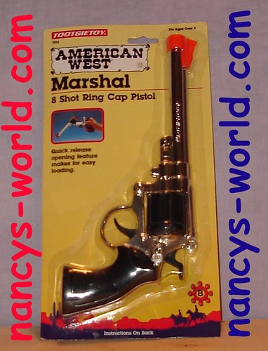 8 ring cap pistol gun