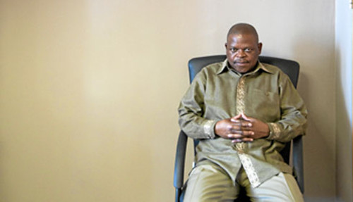 Frans Baleni, secretary general of the National Union of Mineworkers in South Africa. He believes independent worker actions cannot win in the longterm. by Pan-African News Wire File Photos