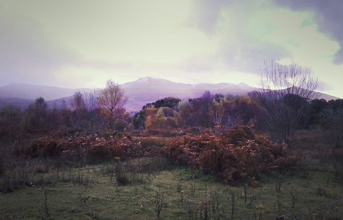 First snow on Cadair Idris by Helen in Wales