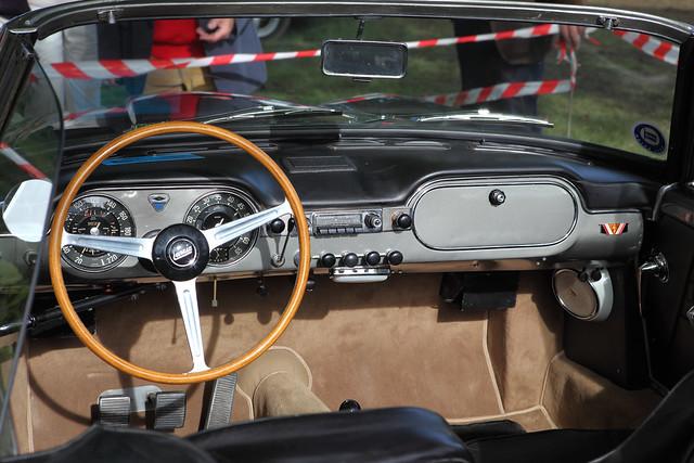 Lancia Flaminia GT Touring Spyder, interior & dash, c1963 | Flickr ...