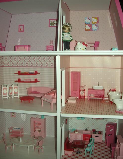 Hello Kitty Dollhouse Tour The House Flickr Photo