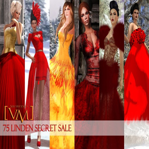 [VM] VERO MODERO 75 LINDEN SECRET SALE
