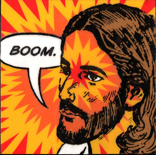 Jesus Go Boom by What Would Jesus Glue?