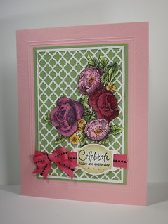 Birthday Trellis Card
