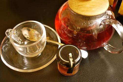 raspberry tea...