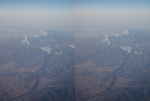 Mount Yatsuga, stereo parallel view