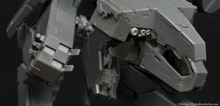 For a full review of this kit visit otakurevolution.com/content/kotobukiyas-metal-gear-rex-re...