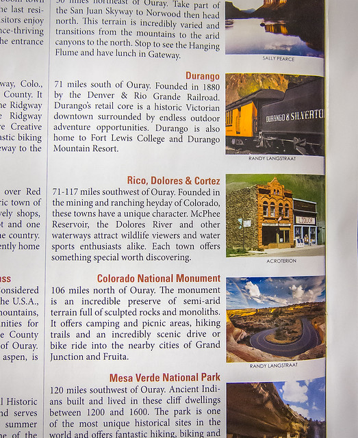 Ouray Visitor's Guide 2013 - Durango