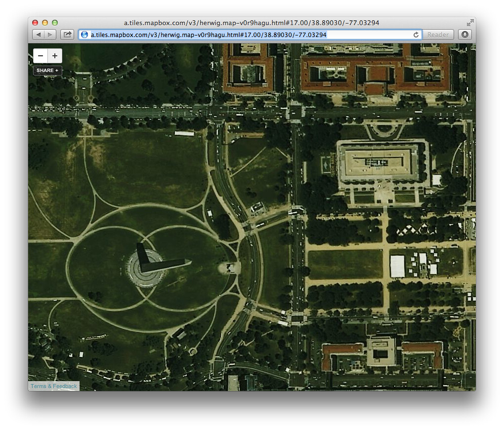 MapBox Satellite POI matching