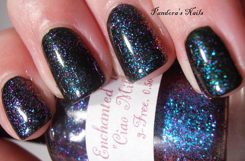 Kiko 392 and Enchanted Polish Ciao Milano 2