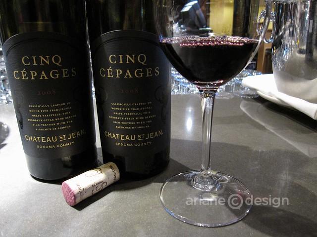 Vancouver Int'l Wine Festival Preview/Cinq Cépages 2008