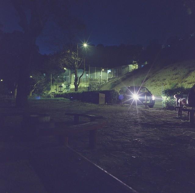 HASSLEBLAD 500C/M 廣角夜攝