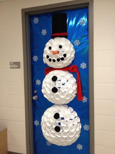 3d Snowman Door Decoration Of What I Ve Been Up To Christmas Stuff New Year S Willow