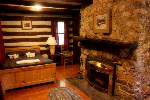 The One Room Efficiency Cabins Are Perfect For A Romantic Getaway At  Douthat State Park