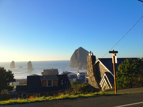 Center Diamond - Cannon Beach, Oregon