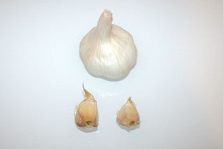 03 - Zutat Knoblauch / Ingredient garlic