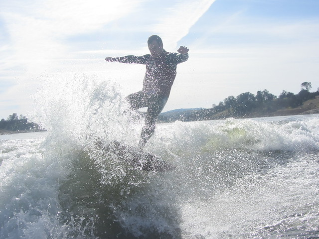 Mid January Wakesurfing 248