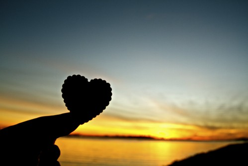 california sunset love dof heart cloudy valentines emeryville valentinesday