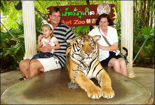 Yeh, I sat with the Tiger