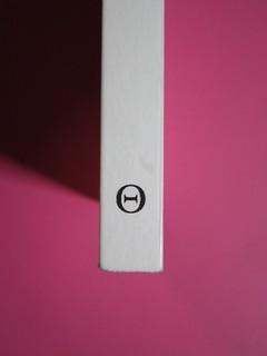 ESC. Quando tutto finisce, a cura di Rossano Astremo e Mauro Maraschi. Hacca edizioni 2012. Art dir., cover, logo design: Maurizio Ceccato | Ifix. Dorso (part.), 1