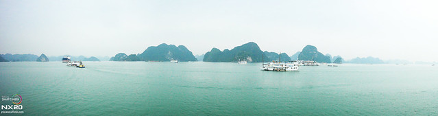halong bay junk view