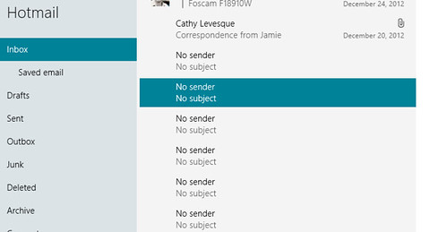 unknown email (No Sender/NoSubject) - Microsoft Community