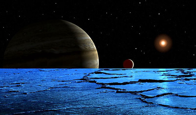 Ice-Fields On Europa - Frank Hettick