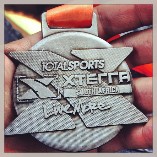 The xterra medal