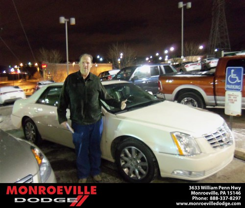 Congratulations to Thomas Fry on the 2008 Nissan Altima by Monroeville Dodge