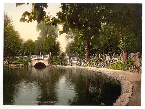 [Pittville Gardens, Cheltenham, England]  (LOC)