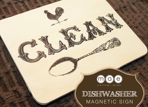 Dishwasher - Magnetic Sign