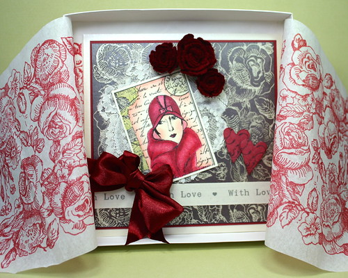 Valentine Card In Box
