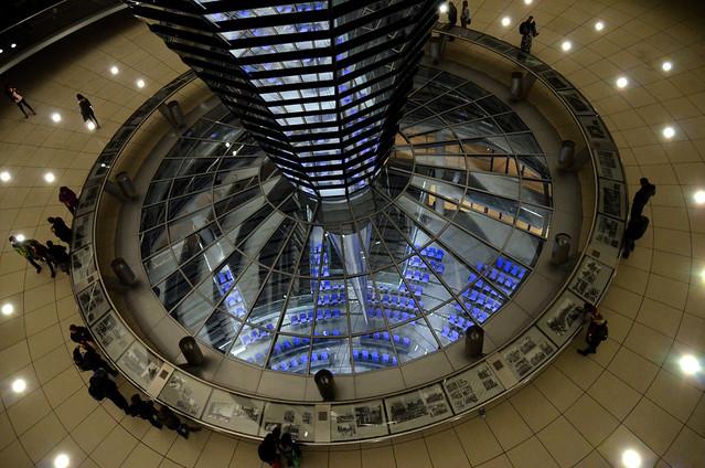 Reichstag es la sede del Parlamento Alemán (Bundestag Alemán)