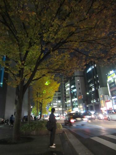 Malam musim gugur di Fukuoka